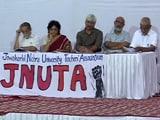 Video : JNU में वाइस चांसलर के खिलाफ जनसुनवाई