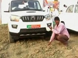 Video : UP Minister Drives Through Field To Save Time, Farmer Says Crop Destroyed