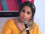 Video : Vidya Balan On How She Sees The Debate Over National Anthem In Cinemas