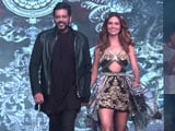 Video: Esha Gupta Walks The Ramp For Rocky S In Goa