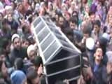 Video : Hundreds Join Funeral Prayers of BJP Youth Wing Leader Killed By Terrorists In Shopian
