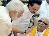Video : Timing Of PM Modi's Meeting With DMK's Karunanidhi Fuels Talk