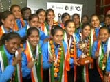 Indian Women's Team Receive Grand Welcome After Asia Cup Hockey Triumph
