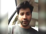 Video : Exclusive: Varun Dhawan's Message To Fight Delhi Smog