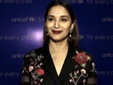 Video : Madhuri Dixit Spreads Awareness Of Routine Immunization