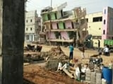 Video : Like A Pack Of Cards: Empty Building Collapses In Andhra Pradesh