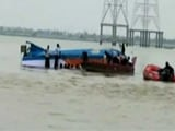 Video : At Least 18 Dead As Boat Capsizes In River Krishna In Andhra Pradesh