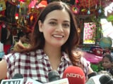 Video : Dia Mirza Celebrates Children's Day With Team Scrappy News
