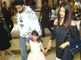 Video : Watch! Amitabh, Aishwarya & Abhishek At Aaradhya's Birthday Party