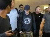 Video : Ed Sheeran Arrives In Mumbai For Concert