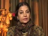 Video : Padmavati Row A Failure Of Government, Political Strategy: Shabana Azmi