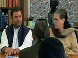 "Video : ""My Role Is To Retire,"" Says Sonia Gandhi On Son Rahul's Elevation"