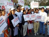 Video: Jaipur Felicitates Donor Families Before Flagging Of Organ Donation Walkathon