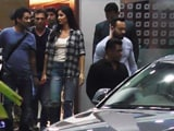 Video : Spotted! Salman Khan & Katrina Kaif At Mumbai Airport