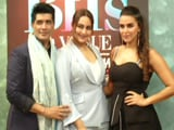 Video : BFFs Sonakshi Sinha, Neha Dhupia & Manish Malhotra Bond Big Time