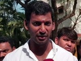 Video : Actor Vishal Says Not Racing Rajinikanth, Kamal Haasan On Politics