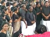 Video : Jayalalithaa Death Anniversary: Black-Clad EPS, OPS Lead Silent march