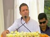 Videos : मोदी जी बस कांग्रेस की बात करेंगे, विकास की नहीं: राहुल गांधी