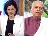 Video : We Won't Budge, We Won't Leave: Yashwant Sinha On Farmers' Protest