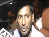 "Video : ""Accepted"" Says Actor Vishal Hours After RK Nagar Nomination Rejected"