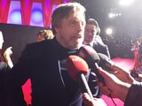 "Video : <i>Star Wars</i> Premiere: ""Younger Actors Are More Prepared Than I Was"" - Mark Hamill"