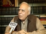 Video : Not Sunni Waqf Board Lawyer, PM Should Check Facts, Says Kapil Sibal