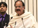 "Video : ""If Not Mother, Who Would You Salute, Afzal Guru?"" Asks Venkaiah Naidu"
