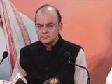 """Video : Arun Jaitley Says BJP Will Have """"Landslide Victory"""" In Gujarat"""