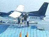 Video : PM Modi's Seaplane Ride On Sabarmati On Last Day Of Gujarat Campaign
