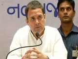 "Video : PM Has Stopped Using The Word ""Corruption"", Says Rahul Gandhi"