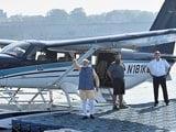 "Video : PM Modi Flies On Seaplane In Gujarat, ""Good Passenger"", Says Pilot"