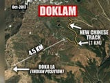 Video : In Doklam, Chinese Built New Roads In Last 2 Months, Show Satellite Pics