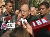 "Video : Arun Jaitley Casts His Vote, Urges People To ""Vote For Development"""