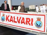Video : Best Example Of 'Make in India', Says PM Modi As INS Kalvari Joins Navy