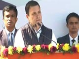 "Video : ""Politics Today Being Used To Crush People"": Rahul Gandhi"