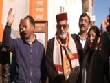 Video : Workers Celebrate In Himachal As Trends Indicate BJP's Victory