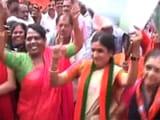 Video : Karnataka BJP Workers Celebrate Party's Victory In Gujarat, Himachal