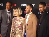 Video : Will Smith & Joel Edgerton At The Mumbai Premiere Of <i>Bright</i>