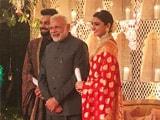 Video : Anushka Sharma And Virat Kohli's Delhi Reception: Yes, PM Modi Was There