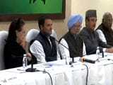 Video : Rahul Gandhi Chairs First Congress Working Committee Meet As Party Chief