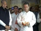 Video : With Prayers At Somnath Temple, Rahul Gandhi Starts Gujarat Poll Outcome Review