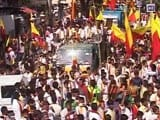 Video : Protest In Bengaluru Demands Karnataka Jobs Be Reserved For Kannadigas