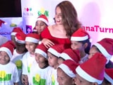 Video : Kangana Ranaut Celebrates Christmas With NGO Kids