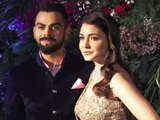 Video : Watch! Anushka Sharma & Virat Kohli At Their Mumbai Reception