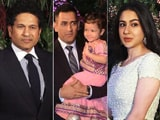 Video : Watch! Sara Ali Khan, Dhoni, Tendulkar At Anushka & Virat's Reception