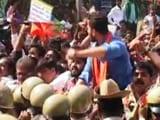 Video : Protest In North Karnataka, Bengaluru Over Sharing Mahadayi Waters