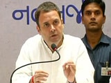 "Video : ""Dear Mr Jaitlie, Thank You'': On Pak Remarks Row, Rahul Gandhi's Jab"