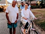 Video : As Son Rahul Takes Charge Of Congress, Sonia Gandhi Holidays In Goa