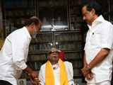Video : Am Energised, Says Politician Rajinikanth After Meeting Karunanidhi