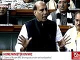 Video : Those Missed In Assam's Citizen Register Will Be Included, Says Rajnath Singh